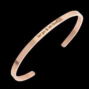 Jewelry - NEW Let Go & Let Go Stainless Steel Bracelet
